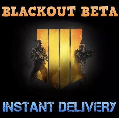 Black Ops 4 Blackout Beta-Early Access Key - Call of Duty BO4 PC PS4 XBOX ONE