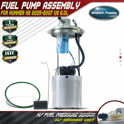 Fuel Pump Module Assembly Spectra SP6019M fits 04-07 Hummer H2 6.0L-V8