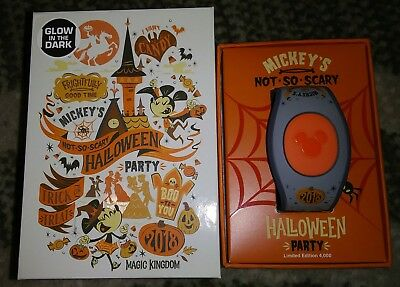 2018 Disney Parks Mickey's Not So Scary Halloween Party Magic Band MagicBand New