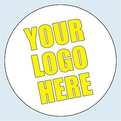 Custom Logo Personalised Labels stickers 35mm Circle Round Business Logo Sticker