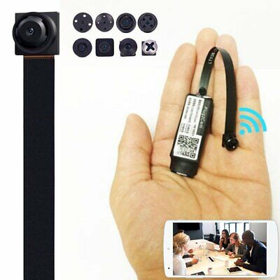 HD Mini Spy Nanny Camera Wireless Wifi IP Pinhole DIY Hidden Video Camera DVR