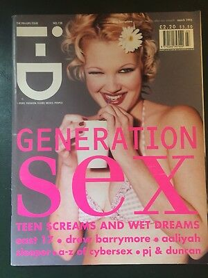 i-D magazine March 1995 Drew Barrymore - Aaliyah - East 17