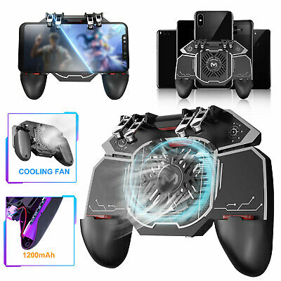L1R1 Mobile Game Controller Shooter Trigger Fire Button for iPhone Samsung PUBG