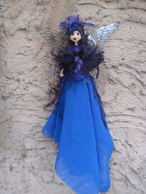 Magical Party Fairy (BluePurple) - Hand made By Conny