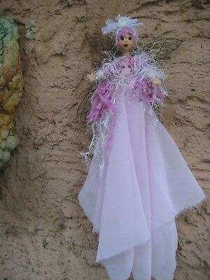 Magical Party Fairy (Pink) - Hand made By Conny