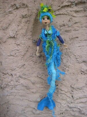Magical Mermaid (Blue)- Hand made By Conny