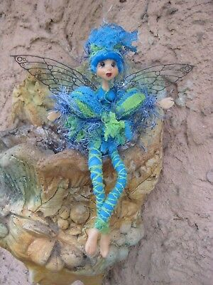Magical Party Elf (BlueGreen) - Hand made By Conny