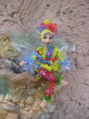 Magical Party Elf (Rainbow1) - Hand made By Conny