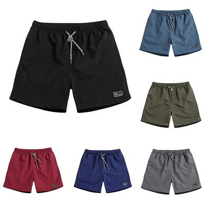 UK Men Boys Modern Shorts Summer Shorts Swimming Pants Beach Short Pants