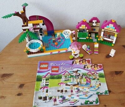 Lego Friends 41008 Heartlake Swimming Poo Changing Rooms Inc Box