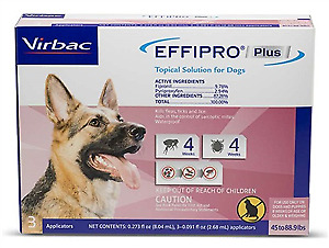 Effipro Plus for Dogs [45-88 lbs] (3 count)