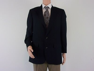 Brooks Brothers 100% WOOL 2-Button Sport Coat     SIZE: 40L     BLACK