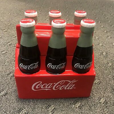 Coca Cola Coke  Six  Pack  Cookie Jar - Retired Item