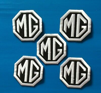 5 VALUE LOT MG Easy Iron/Sew On Embroidered Patches FREE SHIP