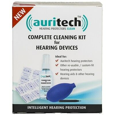 AURITECH Complete Cleaning Kit for Ear Plugs and Hearing Devices