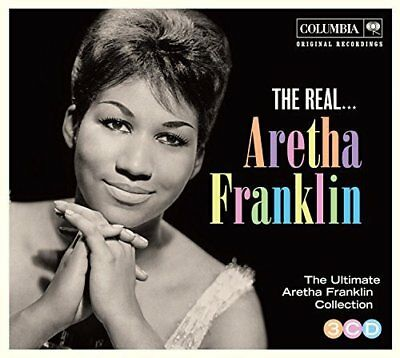 ARETHA FRANKLIN - The Real - Very Best Of - Greatest Hits 3 CD BOX SET NEW