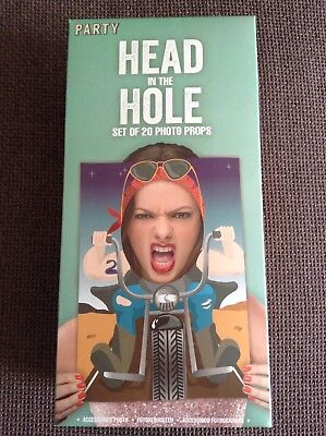 Head in the Hole Faces Photo Props Funny Characters Wedding Hen Stag Party