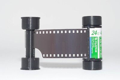 35mm to 120 film adapter - to use 35mm film in medium format cameras -Hasselblad
