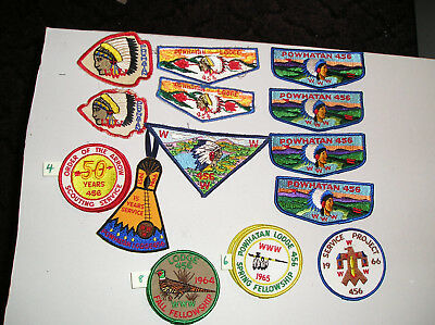 boy scout patches Powhatan Lodge