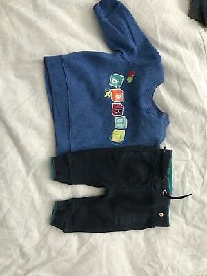Baby Boys Ted Baker Tracksuit 0-3 Months