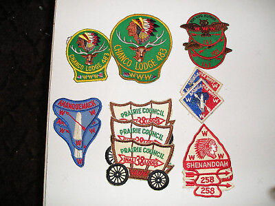 boy scout patches Order Of the Arrow flap patches