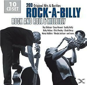 Rock-A-Billy - Rock And Roll & Hillibilly - ORBISON ROY/HOLLY BUDDY/PRESLEY ELVI