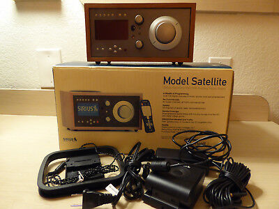 Tivoli Model Satellite Sirius XM AM/FM Radio Desktop Radio in Original Box