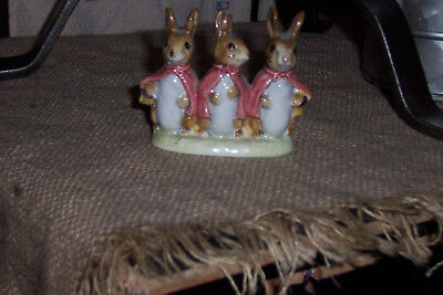 """Beatrix Potter's """"Flopsy Mopsy and Cottontail"""" Figurine"""