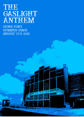 The Gaslight Anthem- Final Shows Tour Poster- Signed/Numbered By Artist