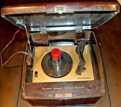 antique record player Victrola by RCA Victor