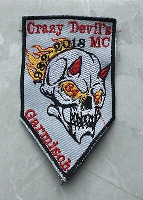 Crazy Devils 2018 Party Aufnäher Patch MC Biker Kutte Harley Chopper Rocker MF