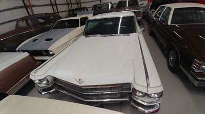 1963 Cadillac DeVille -- White Cadillac DeVille with 75,000 Miles available now!