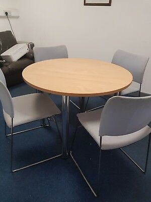 Office table and chairs (ideal for Canteen)