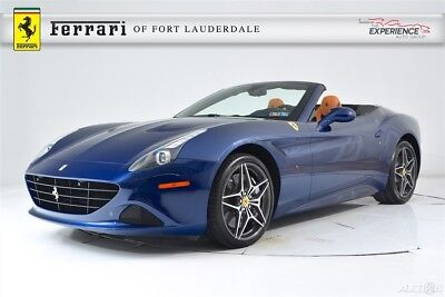 Ferrari California T Apple CarPlay AFS Leather Blu Sterling Shields Full Electric Seats 20 Forged