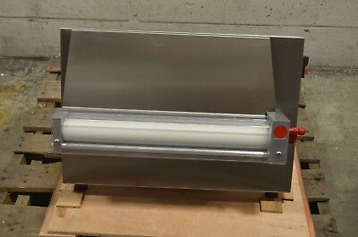 "Estella EDS18S Countertop 18"" One Stage Dough Sheeter - 250 Pieces/Hour"