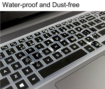 Keyboard Cover Protector For Dell Inspiron 15 17 5000 7000 Series Laptop Black
