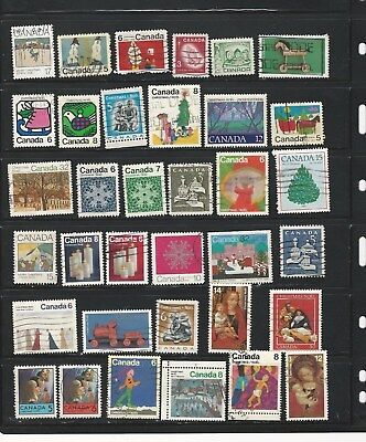 Canada - Selection Of Used Stamps #8