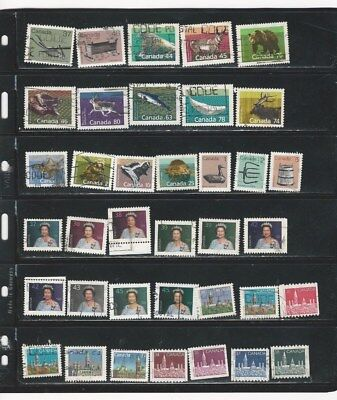 Canada - Selection Of Used Stamps #21