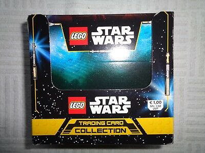 Lego Star Wars Trading Card Collection 1 Display mit 50 Boostern