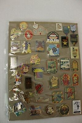 Vintage Travel and Sports Pins - More than 900 of them!