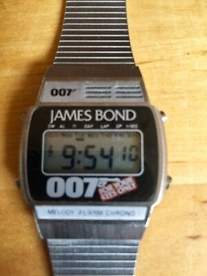James Bond Watch Zeon (Quartz) For Your Eyes Only 1981 rare vintage
