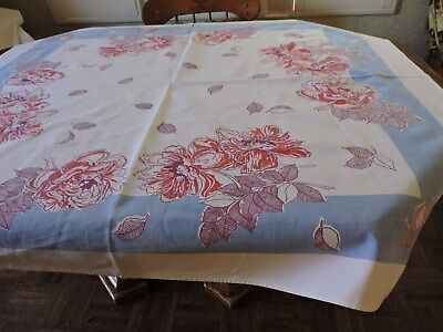 Vintage Tablecloths.  Lot Of Four.  Cutter Or Crafts.  See Desciption & Pics....
