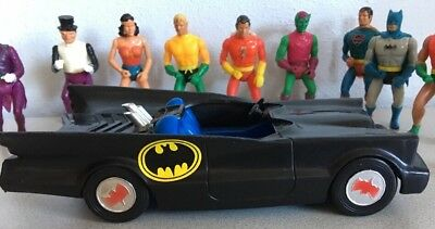 12 MEGO WONDER WOMAN Hulk Pocket Comic Hero ACTION FIGURE Super man Bat mobile