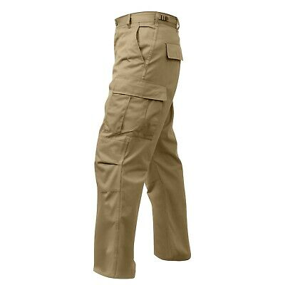 Pants BDU Cargo Tactical Army Military Security EMS Olive Tan Black S,M,L,XL