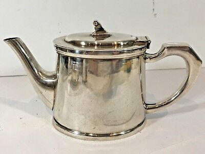 Vintage Mappin & Webb Ltd Silver Plated Teapot - Plate In Good Condition