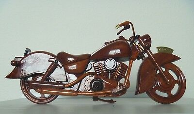 A&B Wooden Motorcycle