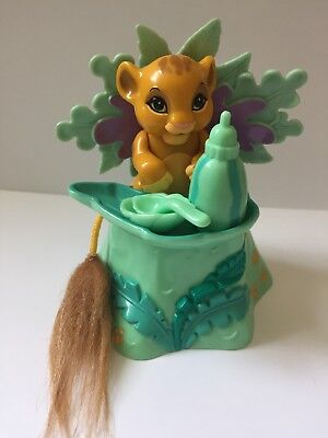 The Lion King Jungle Babies Snacking Simba by Mattel Vintage