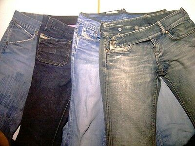Lotto jeans Diesel Levis Levi's Levi Strauss donna 29 30