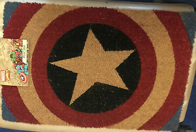 Marvel Comics Captain America Official Merchandise Door Mat - BNWT