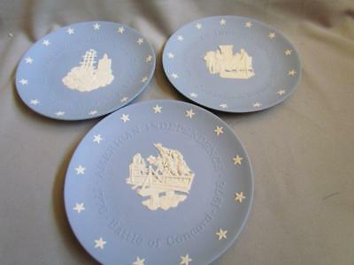 Wedgwood American Independence Plates 3 Total